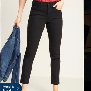 Old Navy Power Slim Straight high-rise jeans
